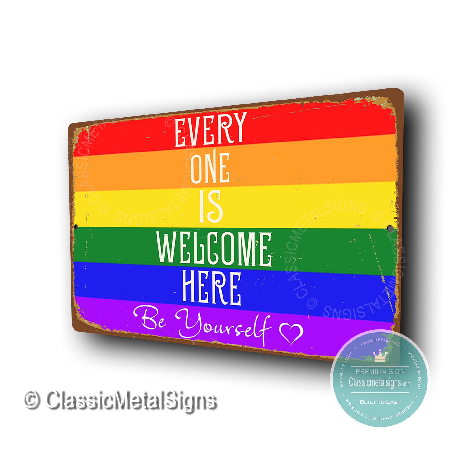 LGBT Welcome Signs